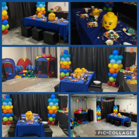 Lego Party Package