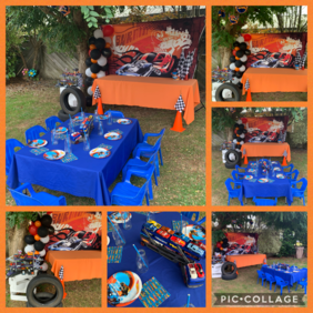 Hot Wheels Party Theme