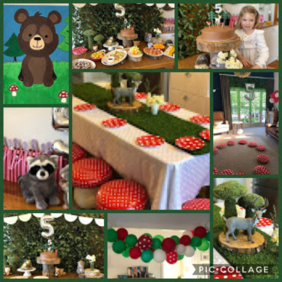 ​  Woodland Forest Party Package