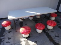 Table & Toadstool Seats